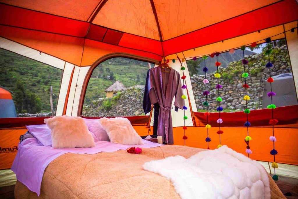 inca trail glamping