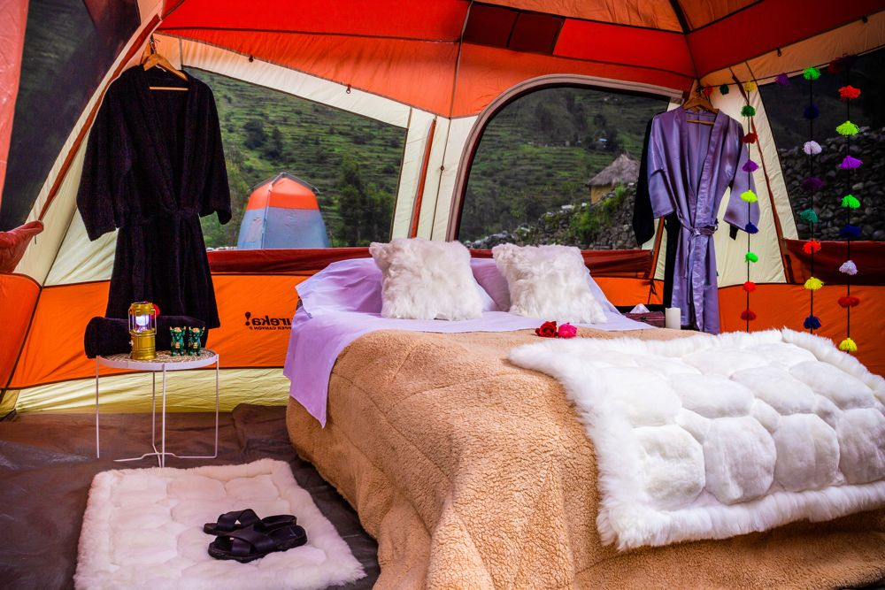 glamping inca trail